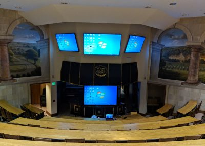 Full View of Room and Screens