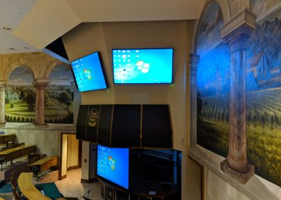 View of Screens