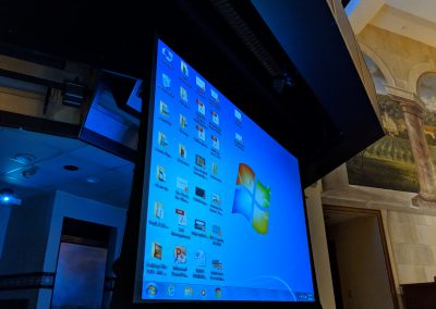 Screen from Projector